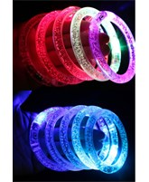 Vong Deo tay pha le  Acrylic LED