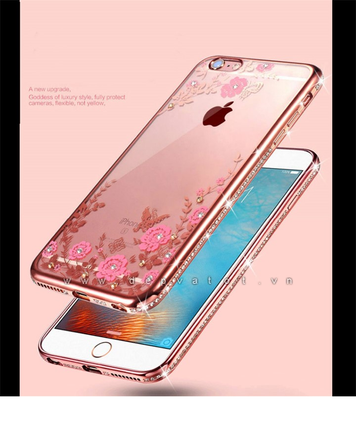op lung iphone 7 deo hinh hoa
