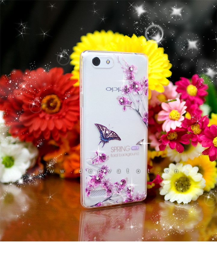 op lung oppo neo 7 a33 deo hinh hoa