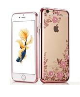 Op lung deo hinh hoa Iphone 5, 5S, SE