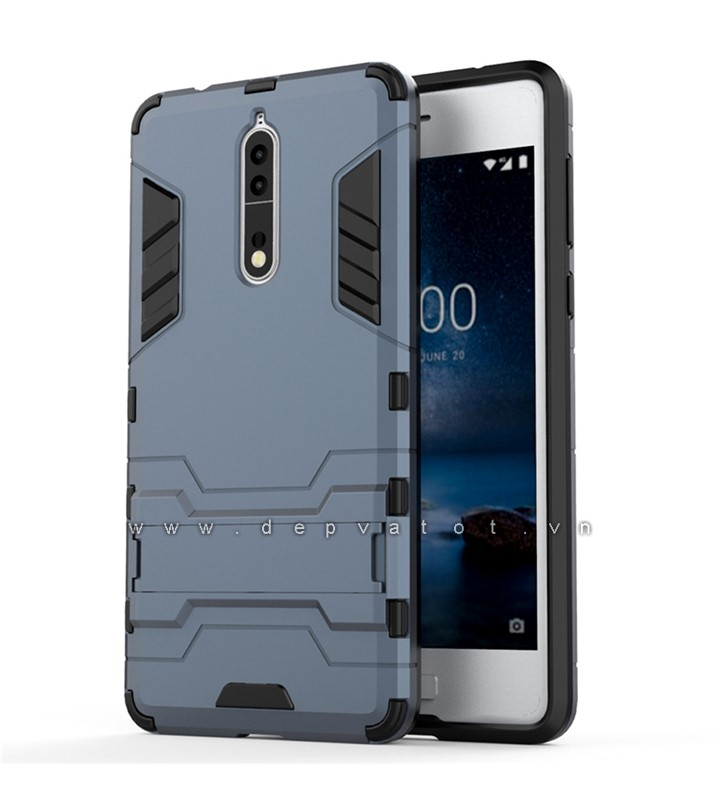 op lung nokia 8 metal warrior
