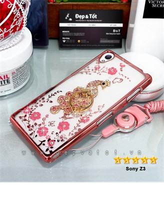 op lung sony z3 deo hinh hoa