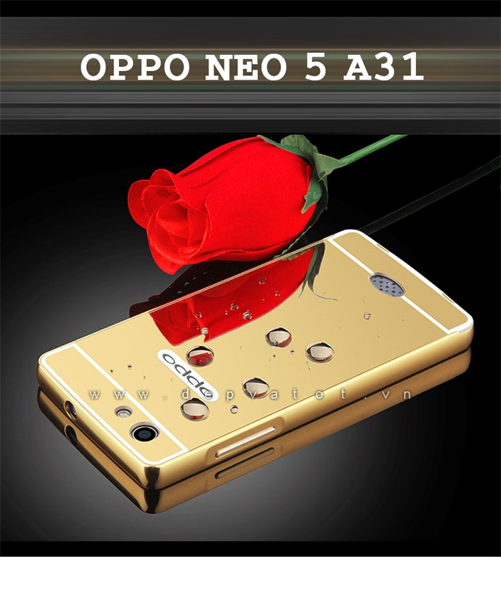 op lung oppo neo 5 a31 vang