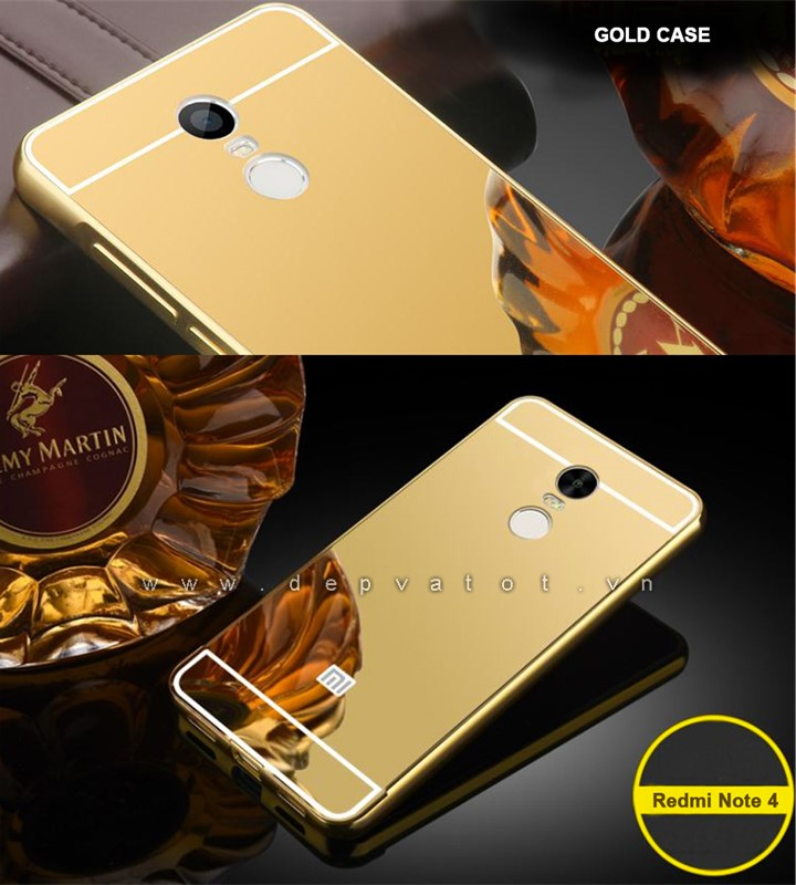 op lung xiaomi redmi note 4 vang