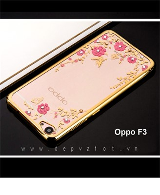op lung oppo f3 deo hinh hoa