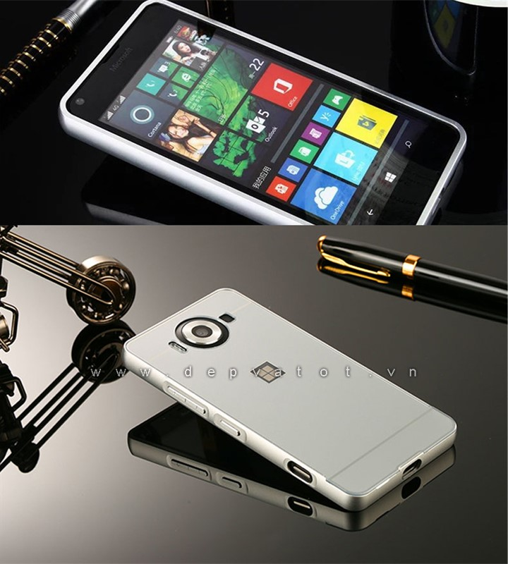 op lung lumia 950 steel heart