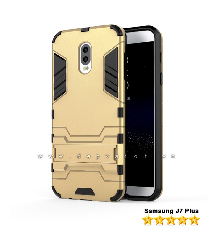op lung samsung j7 plus metal warrior