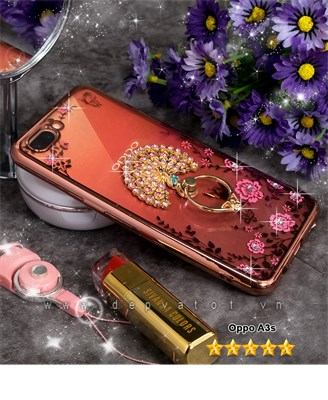 op lung oppo a3s deo hinh hoa