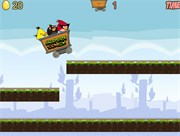 Chơi game Angry Birds đường ray Angry Birds Dangerous Railroad