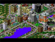 Chơi game Sim City 2000